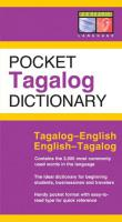Periplus Pocket Tagalog Dictionary