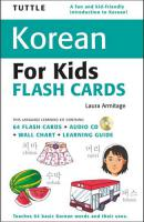 Tuttle Korean for Kids Flash Cards