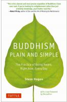 Buddhism Plain and Simple (PB)