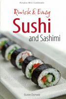 Mini: Quick & Easy Sushi and Sashimi  (Japanese ISBN Ed.)