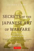 Secrets of the Japanese Arts of Warfare