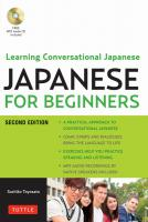 Japanese for Beginners 2nd ed.