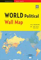 Wall Map : WORLD Political 1st ed.
