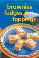 Mini: Brownies, Fudges & Toppings