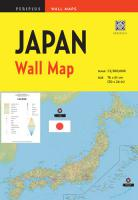 Wall Map : Japan 1st ed.