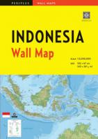 Wall Map : Indonesia