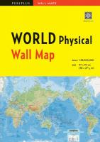 Wall Map : WORLD Physical 1st ed.