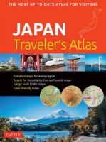 Japan Traveler's Atlas 2ed