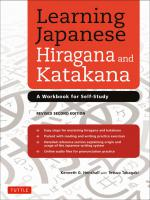 Learning Jpn Hiragana & Katakana 2nd ed.