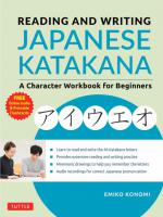 Reading & Writing Japanese Katakana