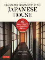 Measure and Construction of the Japanese House【改定新版】