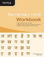 Elementary Hindi Workbook
