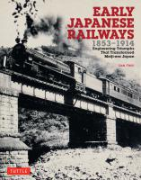 Early Japanese Railways 1853-1914 PB