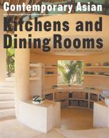 Contemporary Asian Kitchens and Dining Rooms  (Japanese Edition)