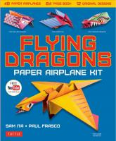 Flying Dragons Paper Airplanes Kit
