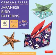 origami paper:japanese bird prints 8.25