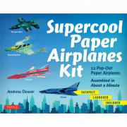 Supercool Paper Airplanes Kit