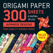 Origami Paper Japanese Designs 300 sheets 4""