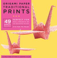 Origami Paper : Traditional Prints