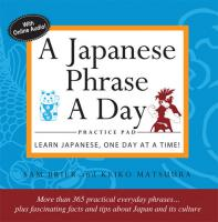 Japanese Phrase A Day