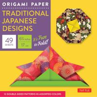 Origami Paper Pack:Traditional Japanese Designs (S) 6 3/4""