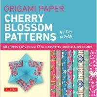 Origami Paper Pack : Cherry Blossoms (S) 6 3/4""