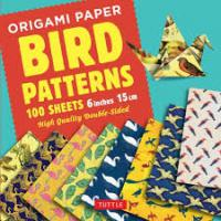 "Origami Paper: Birds 6"" 100 sheets"