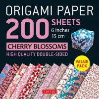 "Origami Paper Cherry Blossom 6""200s"