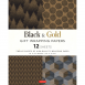 Black & Gold Gift Wrapping  Papers