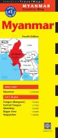 Travel Maps: Myanmar 4th Ed.