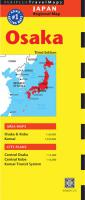 Travel Maps : Osaka 3rd ed.